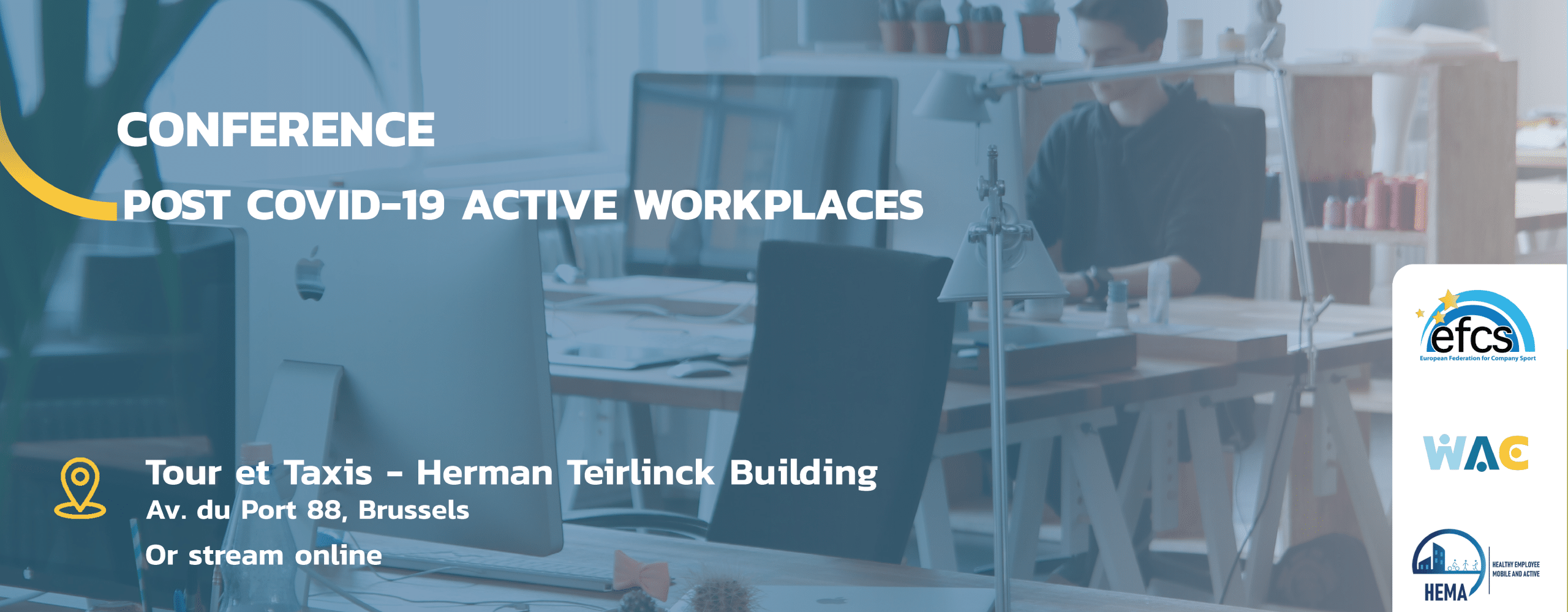 Read more about the article WAC Conference – Post COVID-19 Active Workplaces